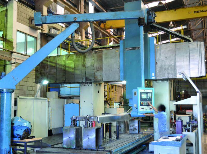 Empresa de usinagem de peças
