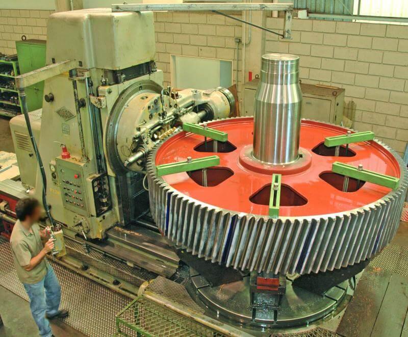 Fábrica engrenagem helicoidal