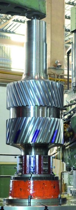 Fábrica de pinhão bi helicoidal