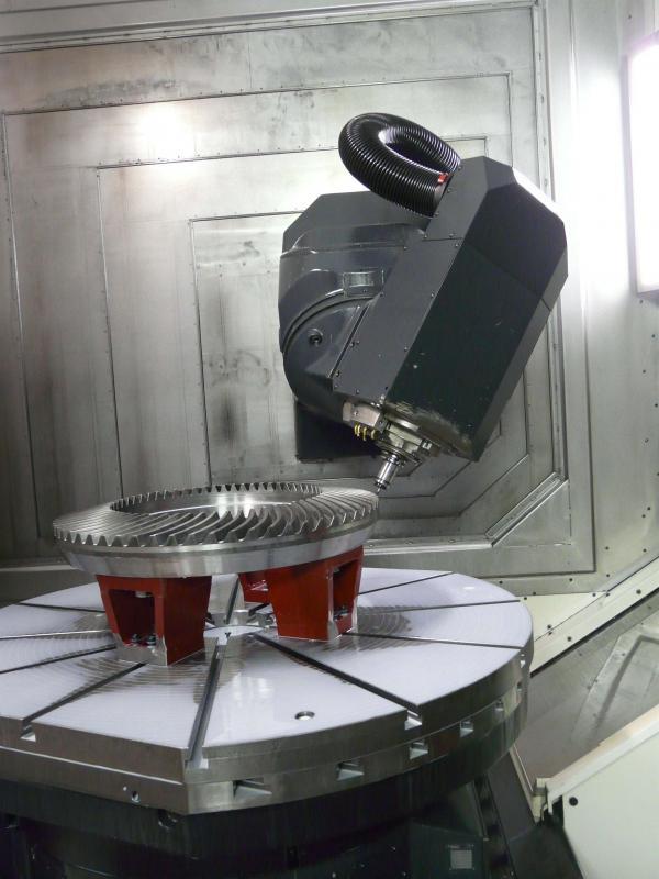 Fabricação engrenagem cônica